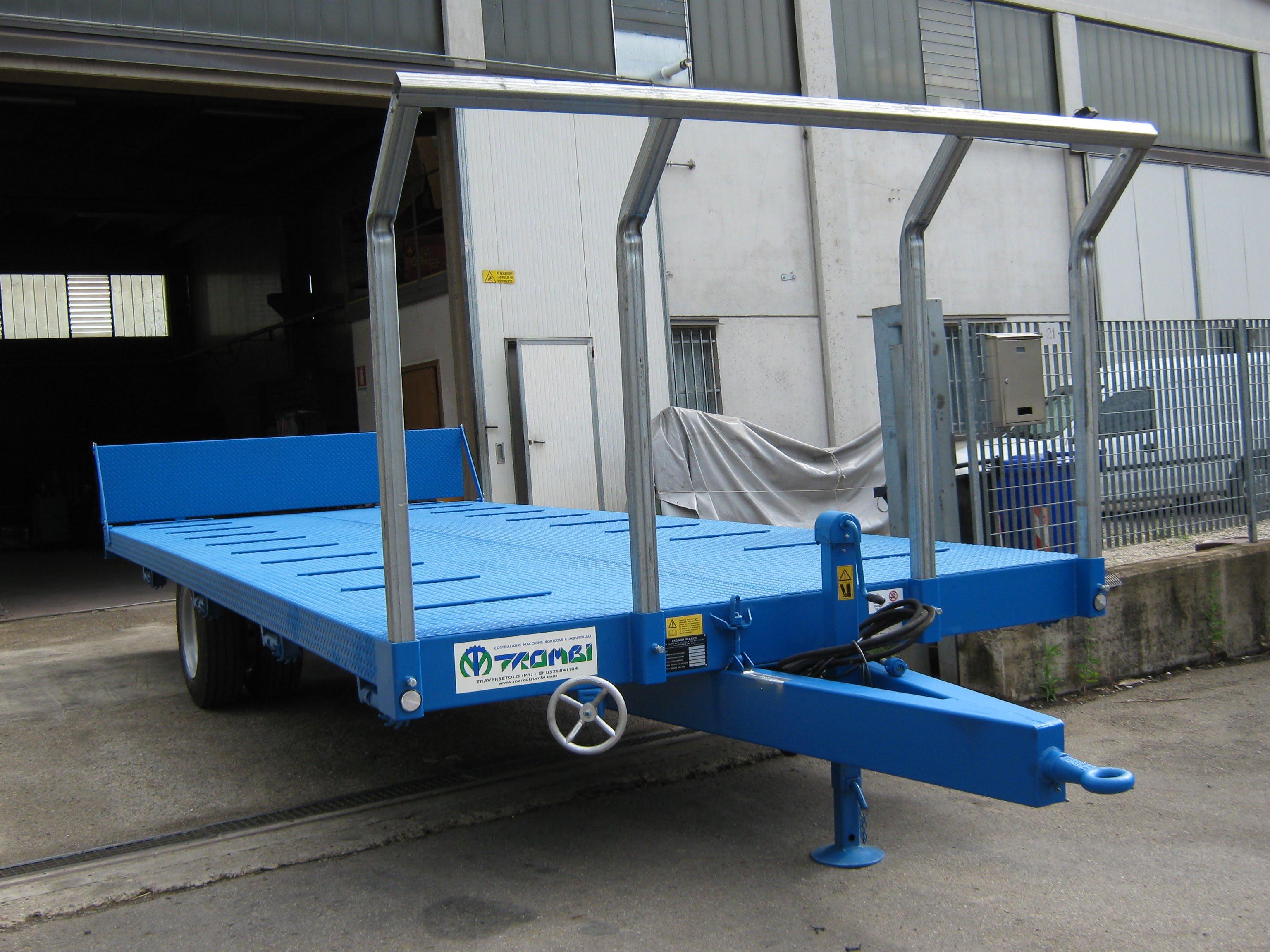 Rimorchi a pianale costruzione e vendita carri agricoli for Omp rimorchi agricoli